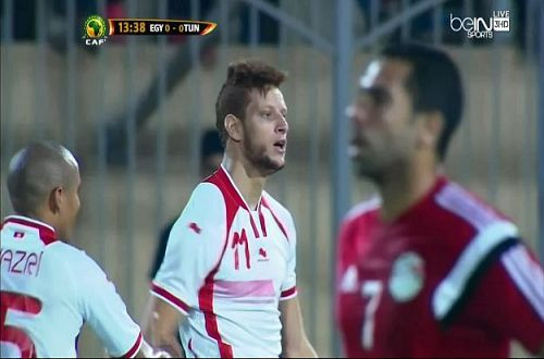 ������ ��� ����� Egypt vs tunisia ��� ������� 19-11-2014
